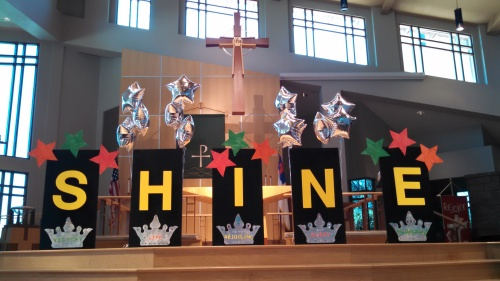 SHINE VBS at Redeemer July, 2014